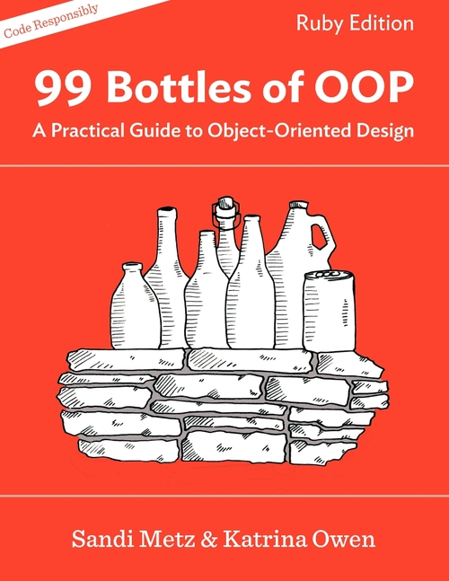 Book cover 99 bottles of OOP